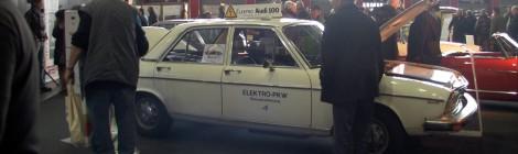 1976-ųjų elektromobilis - Audi 100 LS