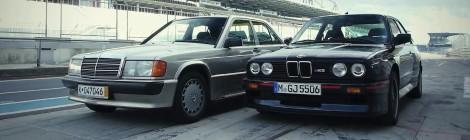 BMW E30 M3 Vs Mercedes-Benz 190E. O gal atvirkščiai?
