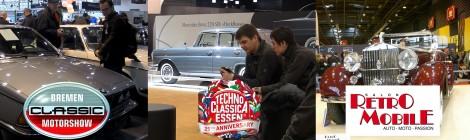 Klasikinių automobilių parodos - kurią rinktis?
