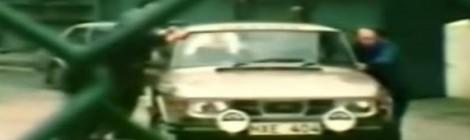 Stigo vairuojamas Saab 99 EMS