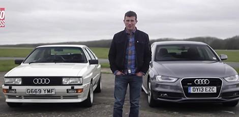 Dvikova: Audi Quattro 20v prieš Audi A4 Quattro