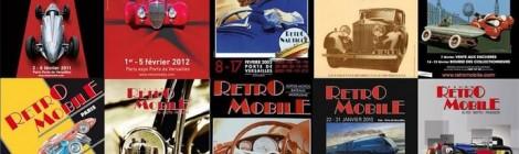 Paryžiaus Retromobile vasario 4-8 dienomis