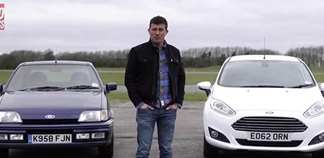 Dvikova: Ford Fiesta XR2 prieš Ford Fiesta Ecoboost