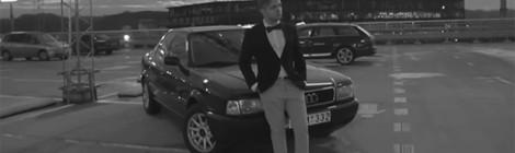 Lietuviška Audi 80 B4 reklama