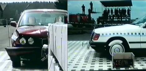 Devynių verslo klasės automobilių saugumo bandymas / 1992-ųjų crashtest