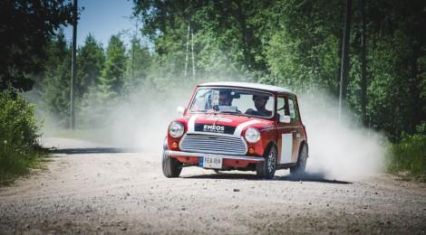 Karolis Raišys Latvijoje pakartojo 1965-ųjų Monte Karlo ralio finalą