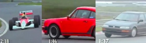 90-ųjų F-1 bolidas prieš Porsche 911 turbo prieš Honda Concerto