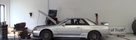 Kiek arklio galio iš tikrųjų turi Nissan Skyline GT-R / R32?